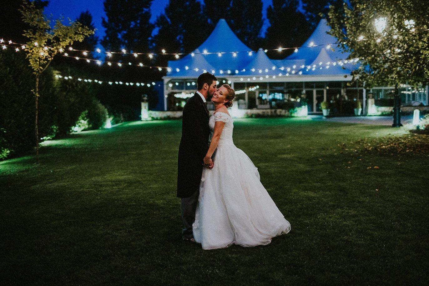 boda en el cenador de amos