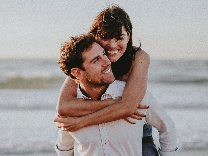 Fotos de pareja en la playa